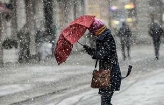 Meteoroloji Uyardı! Karla Karışık Yağmur Bekleniyor