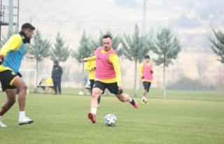 Y.Malatyaspor'da Başakşehir Maçı Hazırlıkları...