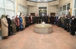 AK Parti Battalgazi İlçe Kadın Kolları Başkanı...