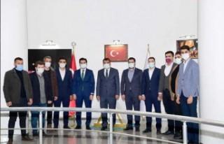AK Parti Gençlik Kollarından Başkan Gürkan'a...