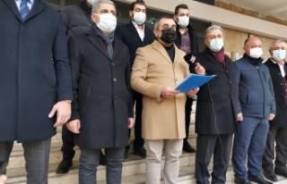 AK Parti Malatya Teşkilatından Suç Duyurusu