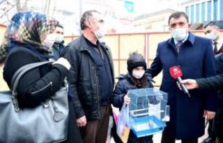 Başkan Gürkan, Minik Kardelen'in Yüzünü Güldürdü