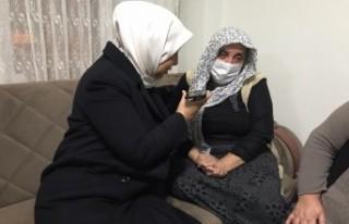 Cumhurbaşkanı Erdoğan'dan şehit annesine...