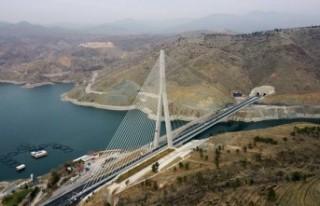 Cumhurbaşkanı Erdoğan, Kömürhan Köprüsünün...