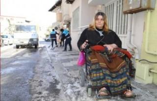 Engelli Kaya'nın Yardımına Battalgazi Belediyesi...