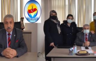 Güç Birliği Partisi MYK Üyesi Ahmet İrmek, Gazetecilerle...