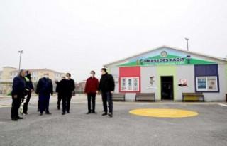 Gürkan, Mersedes Kadir Trafik Eğitim Parkını Ziyaret...