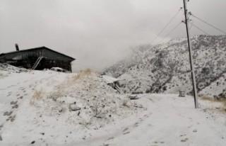 Malatya'nın Bazı İlçelerinde Kar Yağışı...
