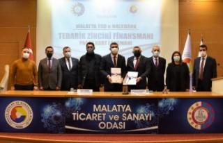 Malatya TSO üyelerini rahatlatacak finansman anlaşmasına...