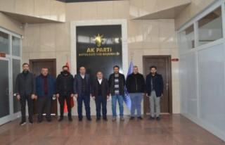 MÜSİAD'tan Başkan Kahveciye Ziyaret