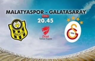 Yeni Malatyaspor-Galatasaray saat kaçta, hangi kanal...