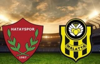 Yeni Malatyaspor Hatay'dan 3 Puanla Dönüyor