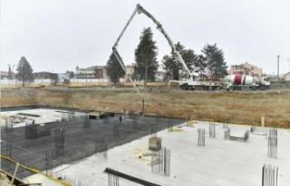 Yeşilyurt Belediyesi Yeni Hizmet Binası İnşaatı...
