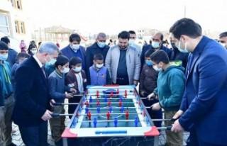 Başkan Çınar, yüz yüze eğitim dönemde çocuklarla...