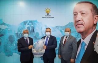 Başkan Güder'in Yoğun Ankara Programı Devam...