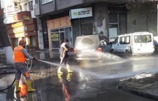 Büyükşehir Belediyesi'nden Hijyen Çalışması