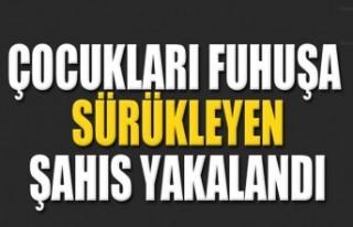 Çocukları Fuhuşa Teşvik Etmekten Aranan Şahıs...