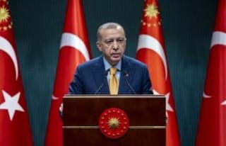 Cumhurbaşkanı Erdoğan, 'Mart Başında Kademeli...