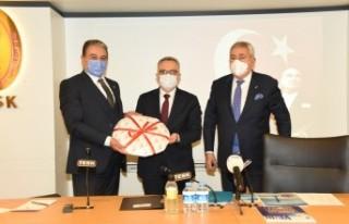 Keskin, 'Esnafın beklentisi MB Başkanı Ağbal'a...