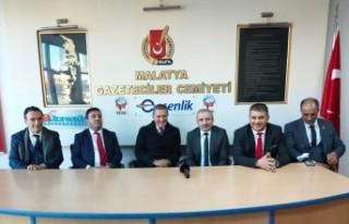 Sarıgül, Malatya Gazeteciler Cemiyetini Ziyaret...