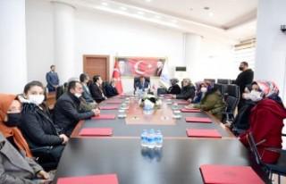 Yeşilder'den Başkan Gürkan'a Ziyaret