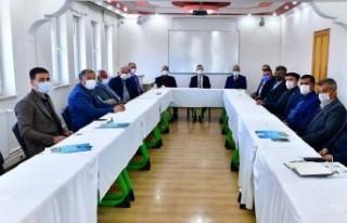 Başkan Çınar, Muhtarlarla Grup Toplantısı Yaptı