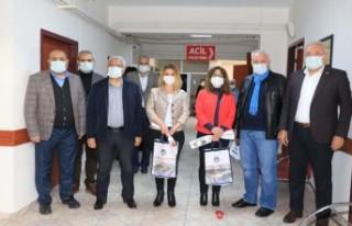 Başkan Güder'den Sağlıkçılara 'Tıp Bayramı'...