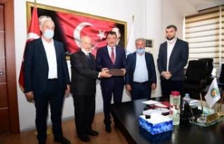Başkan Gürkan, Arapgir İlçe Muhtarlarıyla İstişarelerde...