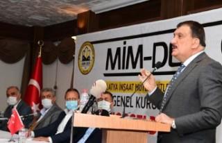 Başkan Gürkan Mimder 4. Olağan Kongresine Katıldı