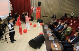 Battalgazi Belediyesi'nden İstiklal Marşı Okuma...