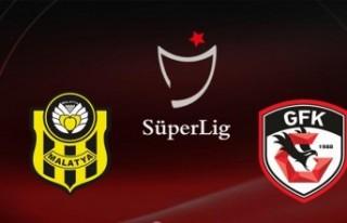 Maç Sonucu: Y.Malatyaspor 2-2 Gaziantep