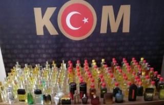 Malatya'da Çok Sayıda Kaçak Parfüm Ele Geçirildi