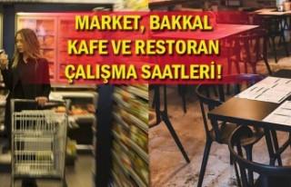 Malatya'da iş yerlerinin açılış-kapanış...