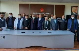 Malatya Gazeteciler Cemiyeti Genel Kurulu Yapıldı
