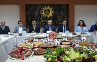 Malatya TSO'da Malatya yemekleri tanıtıldı