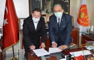 MESOB ile Denizbank arasında işbirliği protokolü...