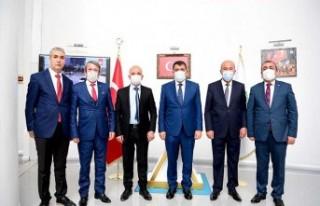 MHP Yeşilyurt İlçe Teşkilatından Başkan Gürkan'a...