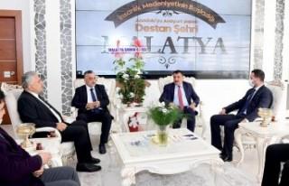 Muhasebeciler Haftası Nedeniyle Başkan Gürkan'a...