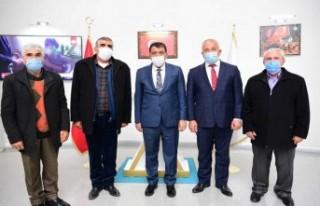 Pir Sultan Abdal Derneği'nden Başkan Gürkan'a...