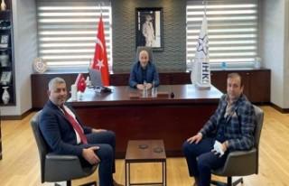 Sadıkoğlu'dan İHKİB'e Ziyaret