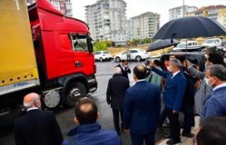 Yeşilyurt'un Yardımı Depremzede Gülay Yaşar'ı...