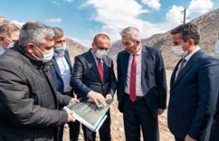 Arapgir Atıksu Arıtma Tesisi İnşaatı Başladı