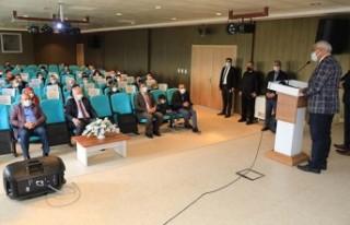 Başkan Güder, Bilgi Yarışmasının Ödül Törenine...