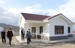 Başkan Güder: 'Bulutlu'daki evlerin teslimi...