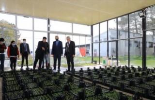 Başkan Güder: 'Her mevsimde ilçemizin güzelliğine...
