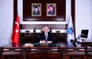 Başkan Güder'den Anadolu Ajansı'na Kutlama...