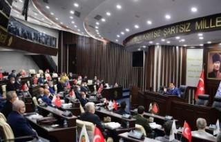 Başkan Gürkan, Belediye Çalışanlarıyla Toplantısı...