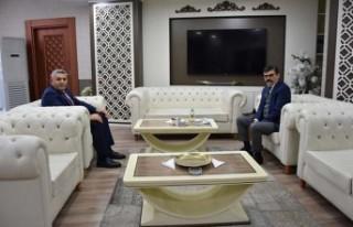 Başkan Sadıkoğlu'ndan Emniyet Müdürü Dağdeviren'e...