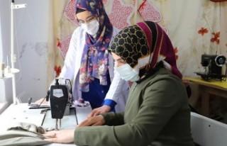 Battalgazi'de Kadınlar Meslek Öğreniyor