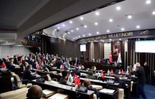 Büyükşehir Belediye Meclisi Nisan Ayı İlk Toplantısı...